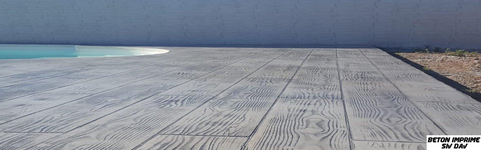 beton imprime Roussillon